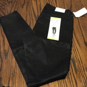 Jessica Simpson Super Skinny Mid Rise Jeans Black